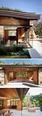 Pool Home This Poolhouse In Texas Is Covered With A Lush Green Roof