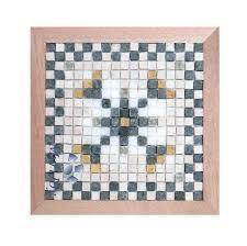 mosaic craft kit for adults christmas geometric flower