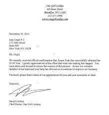 appreciation letter to chef visa sponsorship letter sample for a visa invitation letter