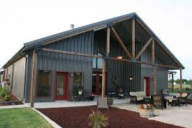 Mueller Buildings Custom Metal Steel Frame Homes Metal Home Designs