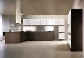 cream modern nuance of the italian galery kitchen designs that has