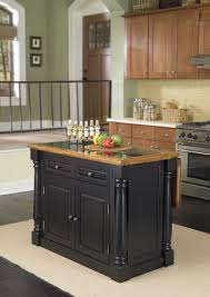 agreeable black kitchen island with granite top u2013 radioritas com