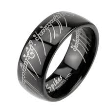 the one ring wedding band b the one ring replica steel ip black rhodium comfort fit band
