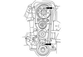 2001 hyundai accent timing marks solved timing belt replacement fixya
