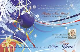 real estate new years cards power real estate marketing real estate new year postcards