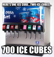 Ice Cube Meme - one ice cube meme
