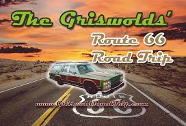 Show Route 66 Usa Map by Griswolds Route 66 Road Trip Real Life Griswold Family Road