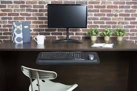 Mouse Platform Under Desk Mount Kb03b Vivo Adjustable Computer Keyboard U0026amp Mouse Platform
