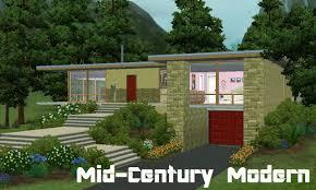 mid century house mod the sims mid century modern