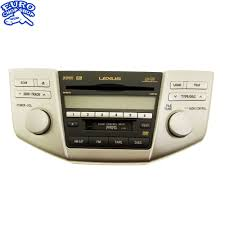 lexus rx400h dash p1502 front dash radio satellite cd tape player lexus rx400h rx350