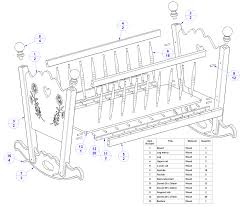 free diy baby crib plans plans diy free download wooden patio