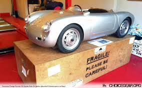 kid car pennewitz design porsche 550 spyder kid car choice gear