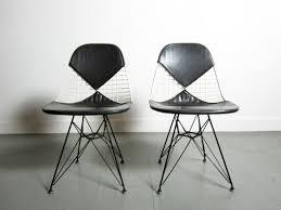 4 eames wire chairs circa modern