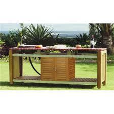 cuisine de jardin en table de cuisine en fer forg table de boucher en fer forg et marbre