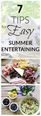Summer Entertaining Recipes - 7 tips for easy summer entertaining decor gold designs