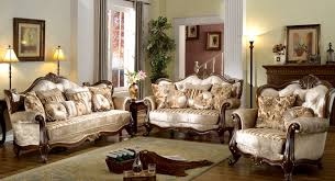 Living Room Design With Brown Leather Sofa Living Room Interesting Victorian Style Living Room Design With