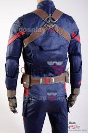 captain america civil war steve rogers uniform cosplay costume