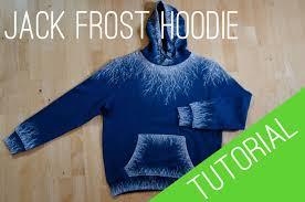 jack frost hoodie tutorial youtube