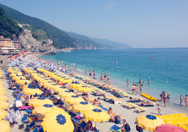 gray malin u201ccinque terre yellow umbrellas u201d graymalin