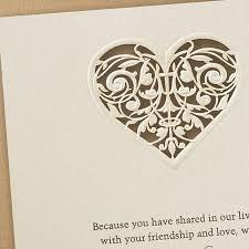 laser cut invitations laser cut heart wedding invitations flamingo