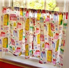 Bright Colorful Kitchen Curtains Inspiration Great Bright Colorful Kitchen Curtains Decorating With Colorful