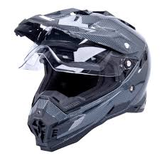 motocross helmet with visor motocross helmet w tec ap 885 tx 27 carbon look insportline