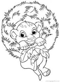 free disney christmas coloring pages kids color pages