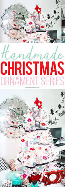 join in on the handmade ornament series i ll be