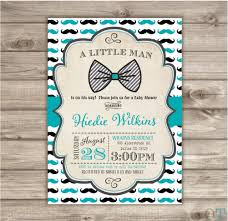 mustache and bow tie baby shower invitations www awalkinhell com