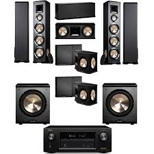 home theater computer bic acoustech pl 980 7 2 home theater system new