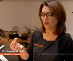 coté cuisine julie andrieu ma recette d arancini dans les carnets de julie 3