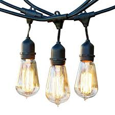 Vintage Outdoor Lights Brightech Ambience Pro Vintage Outdoor Light Strand