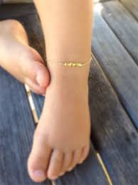 baby jewelry baptism baby anklet baptism gift baby jewelry baby bracelet boys