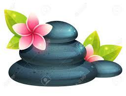 imagenes flores relajantes tarjeta pacífica y relajante con artículos de spa flores exóticas