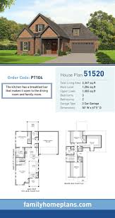 70 best craftsman house plans images on pinterest craftsman craftsman house plan 51520 total living area 2 367 sq ft 3 bedrooms and