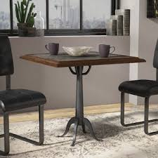metal dining room tables metal kitchen dining tables you ll love wayfair