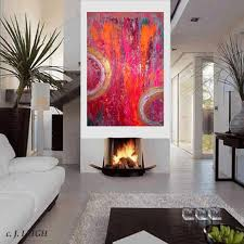 abstract handmade painting modern contemporary best 25 contemporary canvas ideas on orange pink