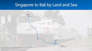 Singapore Air Route Map by Singapore To Bali By Land And Sea U2013 Railtravel Station