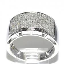 mens diamond wedding band diamond wedding band mens 0 65ct 12mm wide rounded pave set
