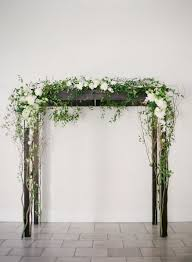 wedding arch greenery wedding arch flowers