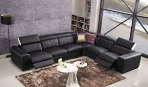 Genuine Leather Reclining Sofa China Latest Leather Corner Electric Recliner Design With Console