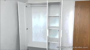 Free Standing Closet With Doors Outdoor Free Standing Closets New Closet Free Standing Closets