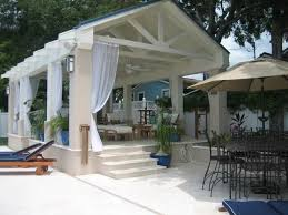 Outdoor Mesh Curtains This Outdoor Living Space Provides The Perfect Spot For Relaxing