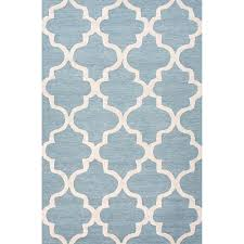 home decoration collections geometric area rug well woven mystic alvin blue 5 ft x 7 ft