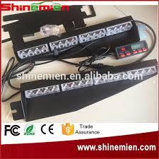 mirror mount beacon lights windshield visor mount led light bar car truck emergency beacon