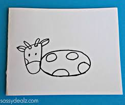 cow mother u0027s day card idea for kids to make crafty morning