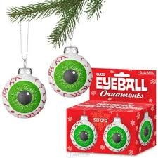 these eyeball ornaments see you when you re sleeping makes it