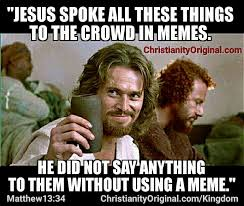 Good News Meme - memes parables masterclass jesuschrist peter said explain it