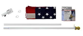 Christmas Tree Shop Flagpole annin flagmakers spinning flagpole with us flag and mini solar