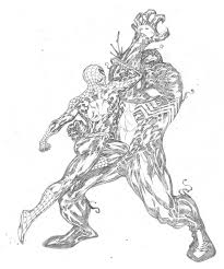 venom vs spider man by spiderguile on deviantart